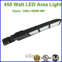 61000LM 450W LED Parking Lot Pole Light Replace 1000W-1500W MH/HPS Shoebox DLC