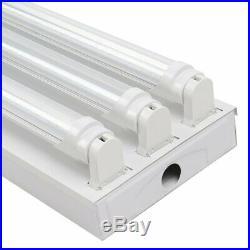 6PK 3-Bulb High Bay T8 66W LED Tube Light SHOP LIGHT UTILITY 5000K Transparent