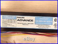 6 Pieces Advance 04783 Icn4s5490c2lsg Icn4s54-90c-2ls-g (3 Or 4)f54t5 Lamps