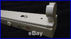 6 x SINGLE 6ft T8 T12 Fluorescent Strip Light Batten Fitting 70W / 75W Job Lot