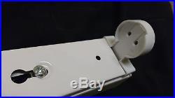 6 x SINGLE 8ft T12 Fluorescent Strip Light Batten Fitting 1 x 100W Job Lot UK