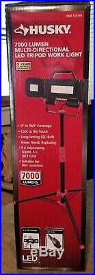 7000-Lumen Multi-Directional Led Tripod Work Light