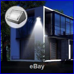 70W 75W 100W 125W 150W Led Wall Pack Outdoor Lighting Warehouse Bright White ETL