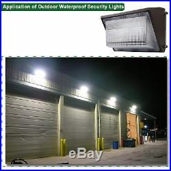70 Watt LED Wall Pack Security Light Outdoor Wall Mount Parking Lot Light 5500K