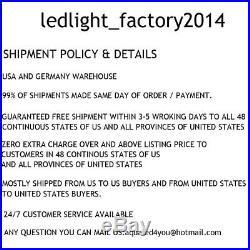 8PCS 100W High Bay Led Light Warehouse Pole Barn Shop Gym Office Garage Lighting