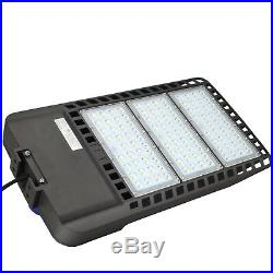 8PCS 300W LED Parking Lot Lights Super Bright Dusk to Dawn Outdoor Commercial