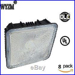 8PCS 70W LED Canopy Ceiling Light Warehouse Workshop Hall Lobby Gas Station Lamp