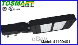 (8) LED 100 Watt Street Security Light Fixture Area Lamp Parking Lot Garage