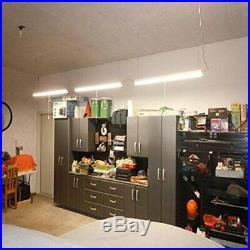 8 Pack Industrial LED Shop Light 4FT Linkable LED Garage Light 40W 4800LM 5000K