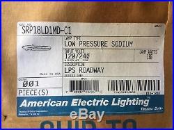 AEL 180-Watt Low Pressure Sodium LPS Roadway Street Light Fixture 180W 120/240V