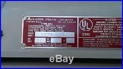 APPLETON ARS 240-277 Explosion-Proof Flourescent Fixture 4' Ft Light ARS240-277