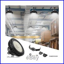 Adiding LED High Bay Light, 150W UFO Hi-Bay Lighting 130Lm/W LIFUD Driver Dimm