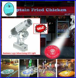 Advertising Light LED Projector Lamp Business Mall Logo Projection Angle 360