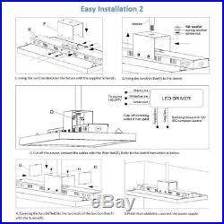 AntLux 4FT LED Linear High Bay Shop Light Fixture 220W (800W Equiv.) 26500lm