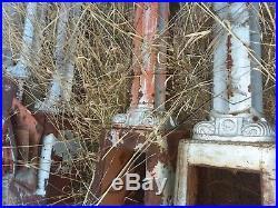 Antique street light poles 30 ft tall