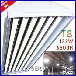 BULKSALE! 6 Bulb / Lamp T8 LED High Bay Light Fixture 6500K Much Brighter lot MX