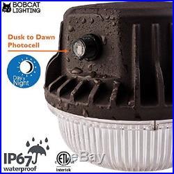 Barn Light Home Security 80 Watt LED Yard Area Dusk Dawn Photocell Outdoor New