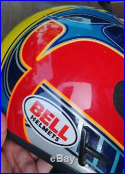 Bell Moto 7 Jeremy McGrath Showtime (XL) rare