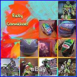 Bell Moto 7 Pro Circuit SplitFire Ricky Carmichael (L)