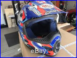 Bell Moto Helmet Jeremy McGrath Showtime M Motocross