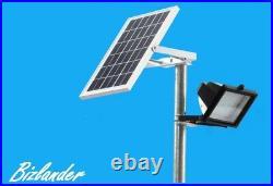 Bizlander 2 Pack 108 LED Solar Powered Flood Light for sign work light Farm hous
