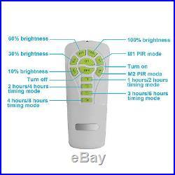 Brightest 4500LM Commercial Outdoor Area Solar Light Post LED Motion Sensor 2PCS