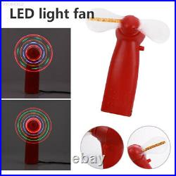 C35D LED-Ventilator Handventilator Blenden Sie Das Licht Kunststoff Luftkühlung