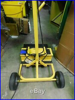 CEP 5322 1000W HID Cart Temporary Job Site Light, Yellow, 220,000 Lumens