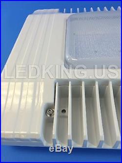 Canopy 130W LED Light Drop Lens Gas Station Warehouse Highbay UL / DLC 130 Watt