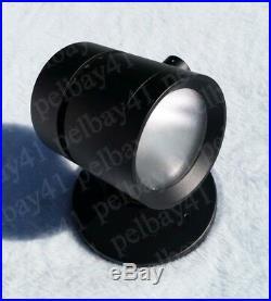 Case 12 Surface Mount LED Spot Light Black 30W 120V Dimmable SLV Damp Location