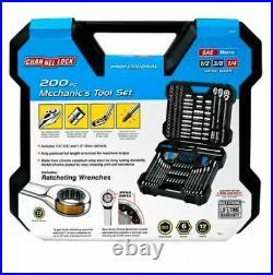 Channel Lock 200 pc professional mechanics tool set Model 39151 NEW