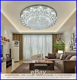 Clear Crystal LED Modern K9 Ceiling Light Pendant Lamp Chandelier Lighting New