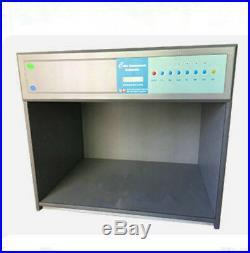 Color Matching Cabinet 6 light sources D65 TL84 UV F CWF U30