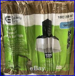 Commercial Electric 750-Watt Equivalent Black LED Industrial High Bay Light /454