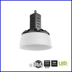 Commercial Electric HL-NHB285-NP08B 750-watt Equivalent Black Led Industrial