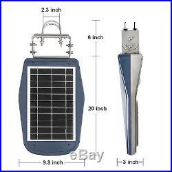 Commercial Solar Street Light Outdoor IP65 Motion Sensor Night Lighting 30 Leds