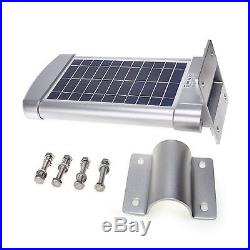 Commercial Solar Street Light Outdoor IP68 Motion Sensor Night Lighting 24 Leds