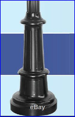 Commercial Streetlight Cast Aluminum Antique Style 12' 4