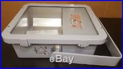 Crouse Hinds Hazardous/Wet Location Light Fixture 400W 120/208/240/277VAC MH