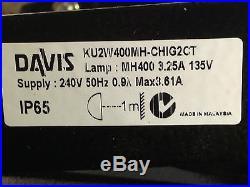 DAVIS KUMA 2 Floodlight 400w Flood Light area building spot 240V with bracket