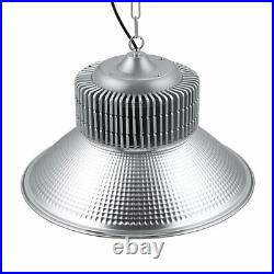 DELight 2pcs LED High Bay Light 200W 10000lm Factory Warehouse Industrial Light
