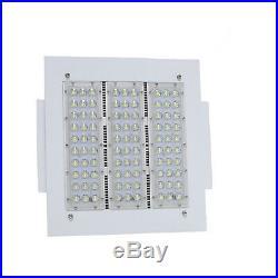 DLC 120W LED Gas station Canopy Light Replace 400Watt MH HPS Ceiling Light 6000K