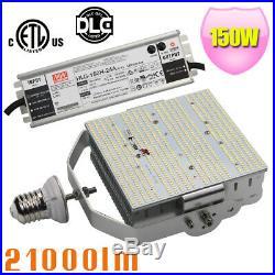 DLC 150W LED Parking Lot Retrofit Kit 1000Watts HPS Tennis Court Light E39 5700K