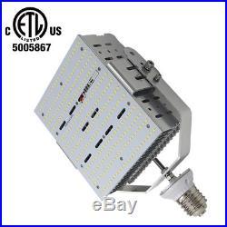DLC 240W LED Parking Lot Retrofit 1000W HPS Tennis Court Street Light E39 5000K