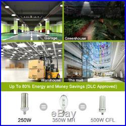 DLC 250W LED Corn Light E39 Replacement 1000Watts Metal Halide High Bay Lights