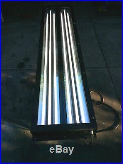 Detailing Auto Paint Booth Light Fixtures 8ft t8 LED glass lens equestrian auto