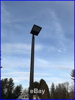 Detas Akron Parking Lot LED Lights & Poles