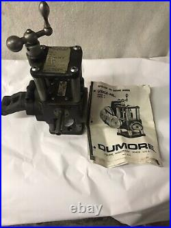 Dumore #1 Versa-mil Milling Attachment Metal