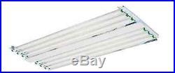 Durolux High Bay T8 Grow Light Dl968e 4ft Six Tubes 120v-277v Fixture, + Bulbs