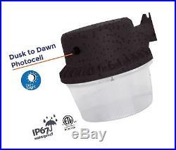 Dusk-to-dawn LED Outdoor Barn Light with Photocell DLC & ETL-listed Yard Ligh